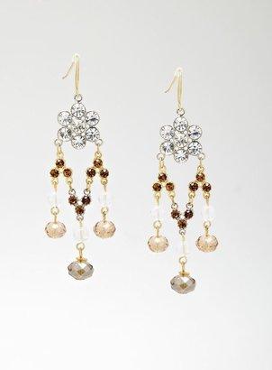 Stein & Blye Jewel Chandelier Necklace