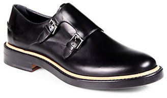 Fendi Double Monk Strap Dress Shoes