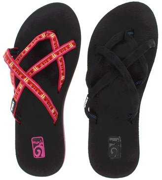 Teva Olowahu Bundle 2-Pack (Mix Black on Black/Diago Pink) - Footwear