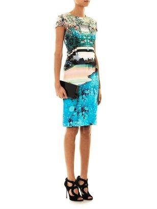 Mary Katrantzou Caspian tree-print dress