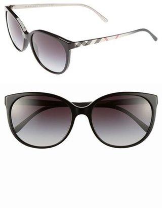 Burberry 'Spark' 55mm Sunglasses