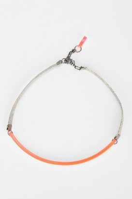 Urban Outfitters I Still Love You NYC Alien ID Choker Necklace