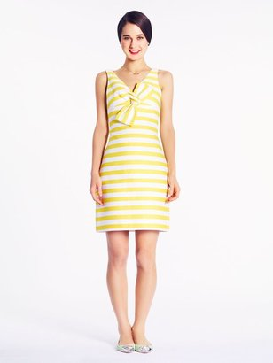 Kate Spade Striped silverscreen dress