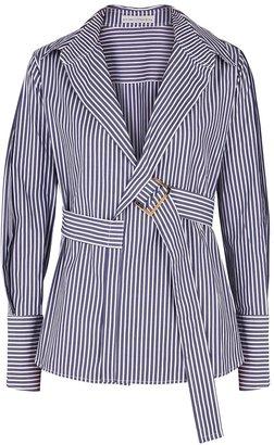 Palmer Harding Calli Striped Cotton Shirt