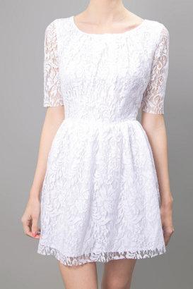 Patterson J. Kincaid Lace Dress