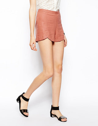 Asos Shorts in Linen with Split Detail