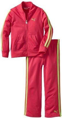 Puma Kids Girls 2-6x Pant Jacket And Tricot Track Set