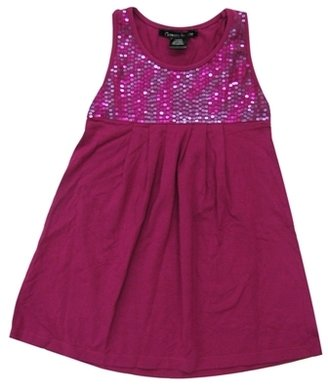 Kitson **SALE**Flowers By Zoe - Kid's Megenta F3D5 Tank Dress