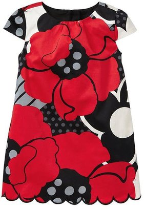 Gap Scalloped floral dress