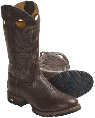"""Tony Lama TLX Western Work Boots - 13"""", Round Toe (For Men)"""