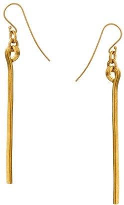 Made Ndata Stick Earrings - Gold