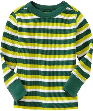 Old Navy Long-Sleeved Waffle-Knit Tees for Baby