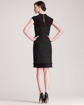 Fendi Tweed Sheath Dress