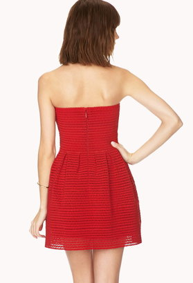 Forever 21 Standout Fit and Flare Dress