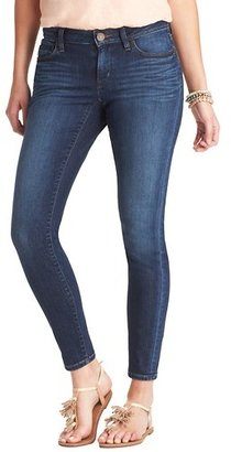 "LOFT Petite Curvy Skinny Ankle Jeans in Venice Blue Wash with 25"" Inseam"