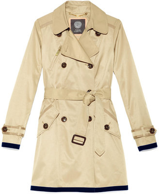 Vince Camuto Joanne Colored Trench