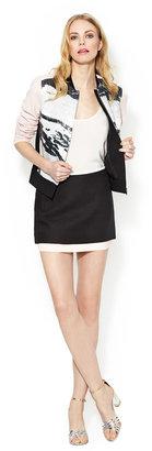 Diane von Furstenberg Elley Cotton Mini Skirt
