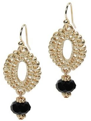 Style Tryst Oval Bead Earrings
