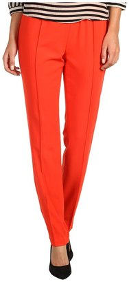 BCBGMAXAZRIA Maria Slim Pant (Bright Poppy) - Apparel