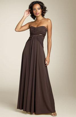 BCBGMAXAZRIA Strapless Gown (Petite)