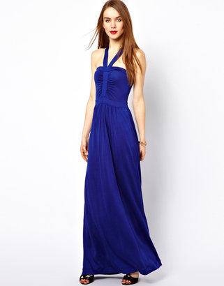 French Connection Drape Maxi Dress
