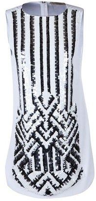 Vanessa Bruno Geometric Embroidered Tunic