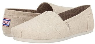 Skechers Bobs From BOBS from Bobs Plush-Best Wishes (Natural) Women's Slip on Shoes