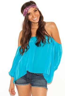 Boulee Audrey Top in Turquoise