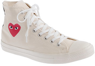 Comme des Garcons Unisex PLAY for Converse® high-top sneakers