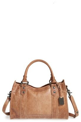 Frye 'Melissa' Washed Leather Satchel - Beige $388 thestylecure.com