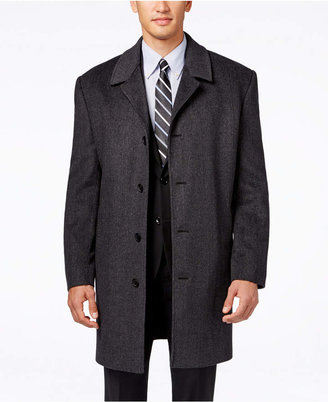 London Fog Coventry Wool-Blend Overcoat $350 thestylecure.com