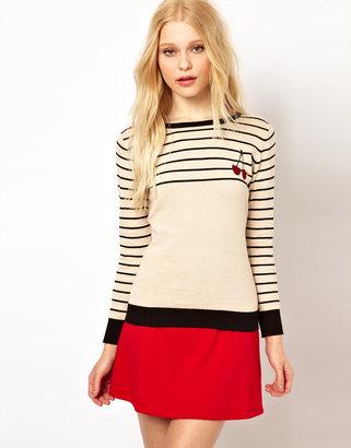 Sugarhill Boutique Cherry Sweater