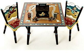 Levels of Discovery Wild West Table & Chairs Set