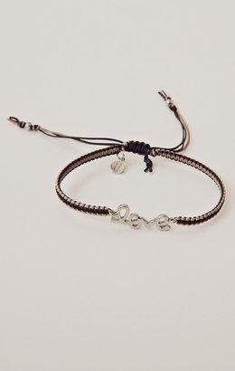 Tai Braided Silk Cord Bracelet