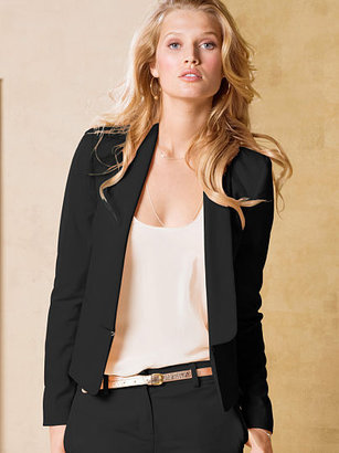Victoria's Secret Cropped Tuxedo Jacket