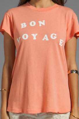 Wildfox Couture Bon Voyage Baby Tee