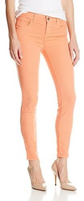 Habitual Denim Women's Grace Skinny Jean in Vivid Peach