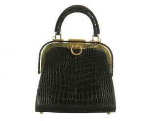 Christian Dior very good (VG Black Alligator Small Evening Bag * Layaway Available *