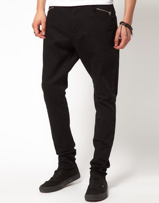 Unconditional Back Zip Skinny Jeans