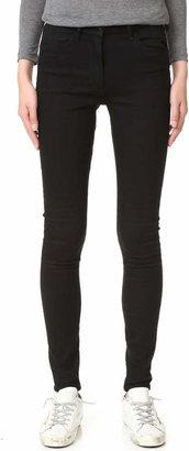 3x1 W3 Channel Seam Skinny Jeans $225 thestylecure.com