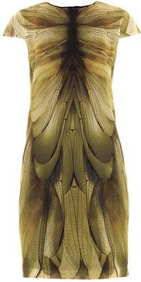 McQ by Alexander McQueen Dragonfly-print dress