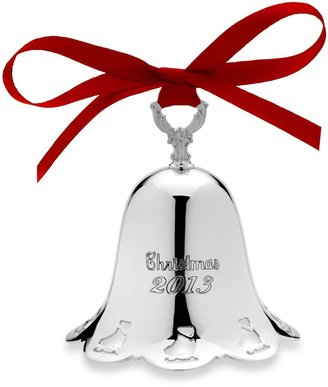 Towle 2013 Silver Plated Pierced Bell Ornament