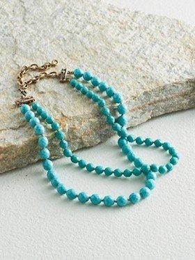Pendleton Glass Bead Necklace