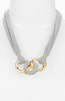 Nordstrom Adami & Martucci 'Mesh' Frontal Necklace Exclusive)
