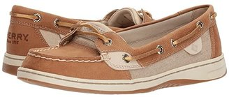 Sperry Angelfish (Metallic Linen) Women's Slip on Shoes