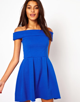 Asos Off Shoulder Prom Dress