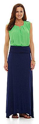 Gibson & Latimer Foldover Maxi Skirt