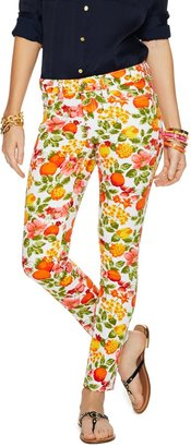 C. Wonder Fruit Punch Stretch Ankle Jean