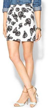Pim + Larkin Floral Bubble Skirt