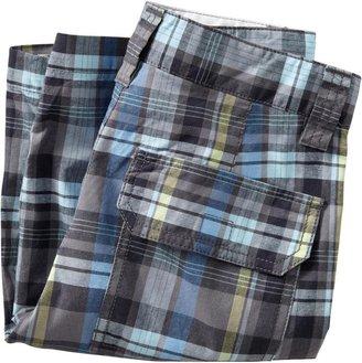 Old Navy Boys Plaid Cargo Shorts